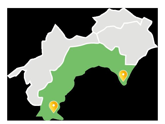 高知県東部と西部まで出張面談致します